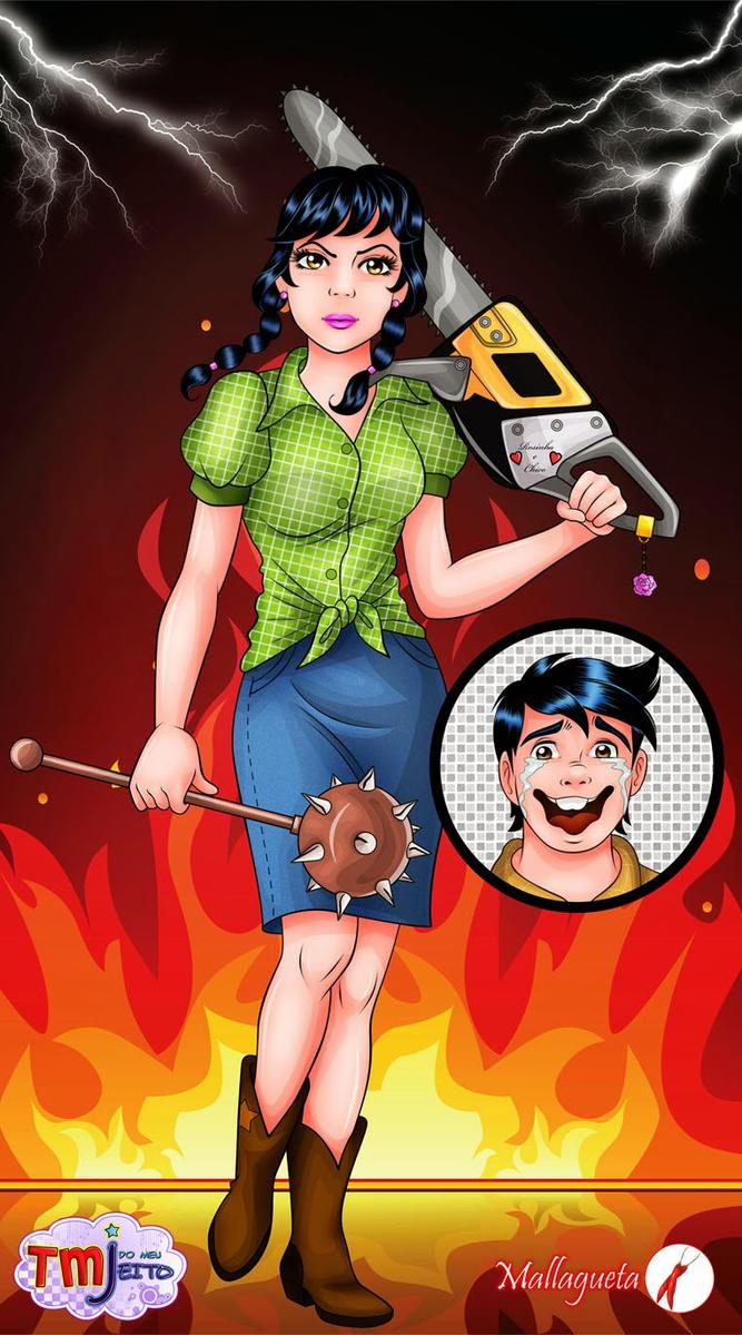 Jealous girl by Mallagueta-Pepper