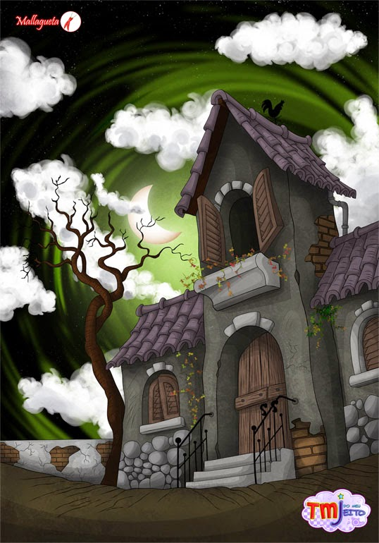 Haunted house by Mallagueta-Pepper