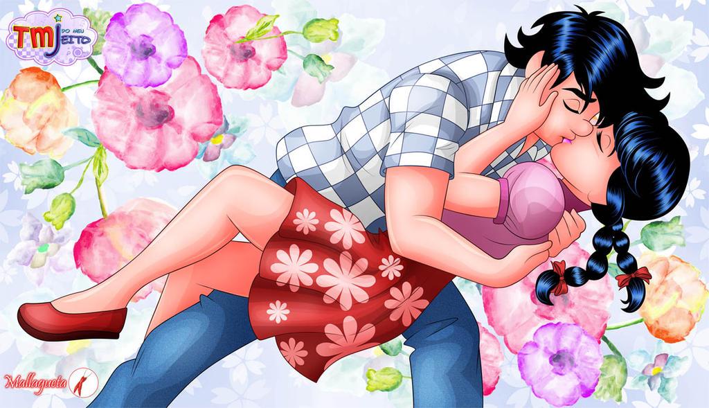 Love kiss by Mallagueta-Pepper