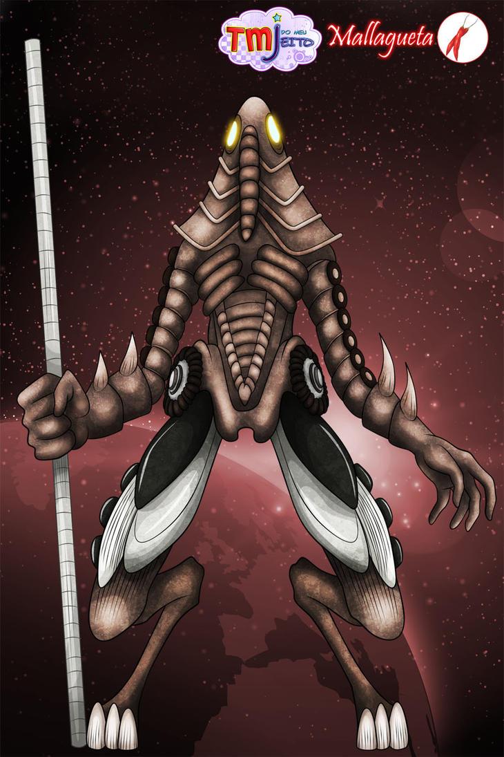 Alien from Tomba planet by Mallagueta-Pepper