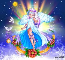Anjo do Natal by Mally-Pepper