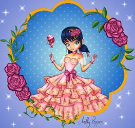 Princess Marinette - colored