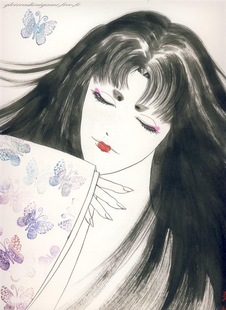 madame butterfly by greatshinigami on deviantart