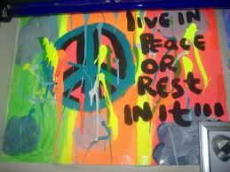 Live in peace or rest in it. by ashlynne25726