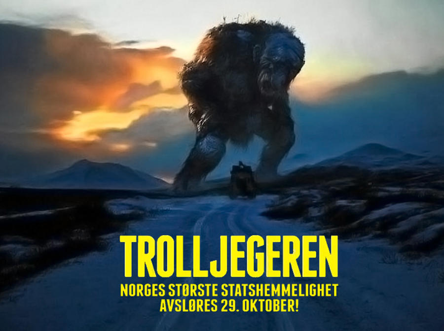Image result for trolljegeren poster