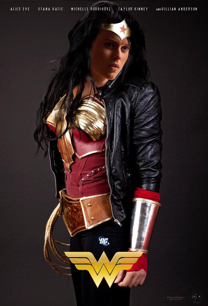 Alice Eve's Wonder Woman by JPSpitzer