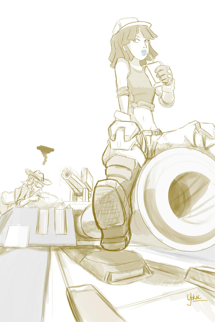 Doodle - NC Engi by Yokal5