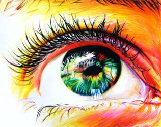Sun in Her Eyes by SkylerBrown