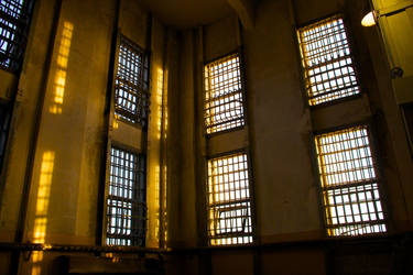 Alcatraz Sunset by SkylerBrown
