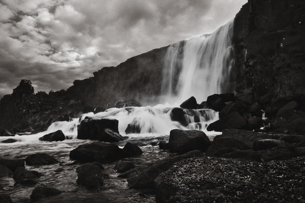 Oxararfoss by SkylerBrown