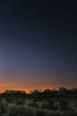 stars above fields by EdinaBaltas