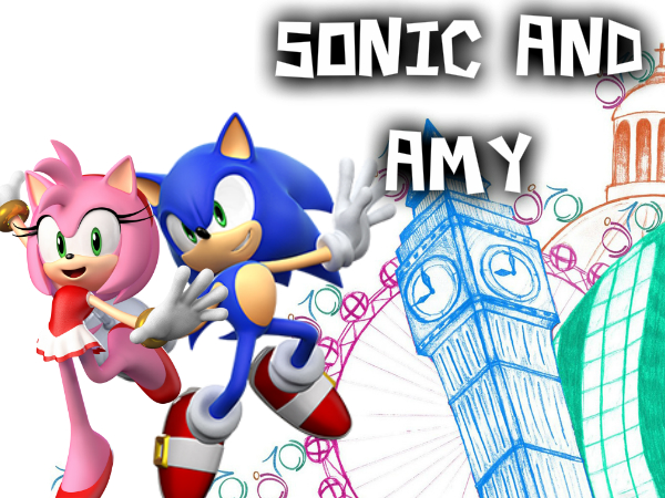 Sonic And Amy by Sonamy115