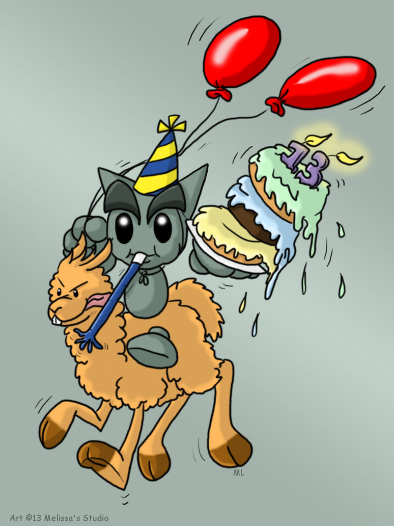 Deviantart 13th Birthday Entry by TwinTwosGirl