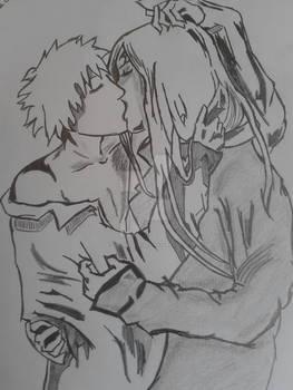 Ichigo and Renji