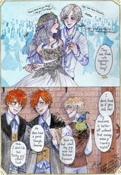 Harry Potter AU: The Yule Ball by LITATO
