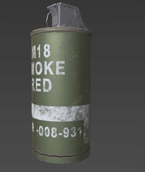 M18 Smoke grenade  by gerardmery on DeviantArt