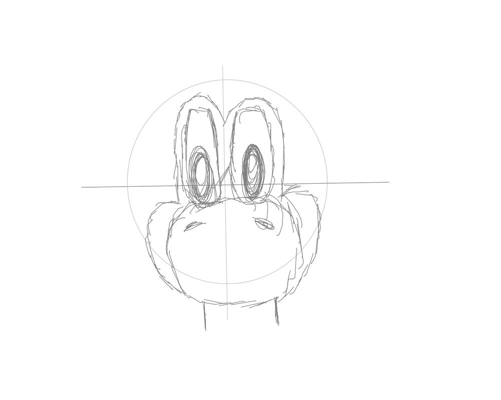 Yoshi for Raptorlolz by MrCrazy4621