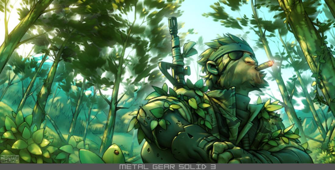 MGS3 fanart 2 by GrayShuko