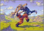 Goku vs Vegeta (2008)