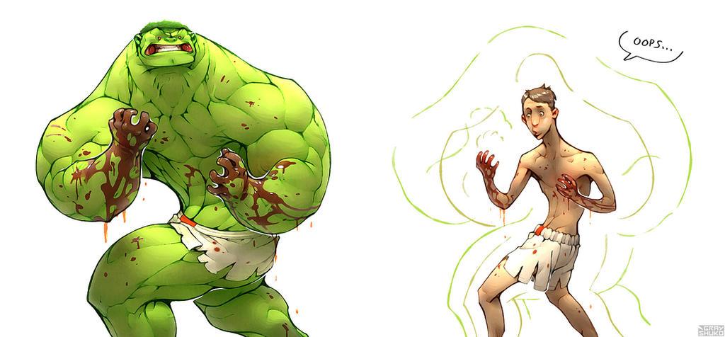 HulkOops by GrayShuko