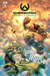 Overwatch Junkrat and Roadhog comic cover