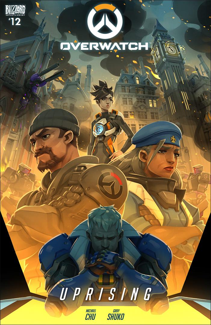 Overwatch comic 12 - Uprising by GrayShuko