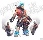 Los Muertos Reaper fanart