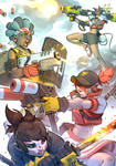 RaRa Boom poster by GrayShuko
