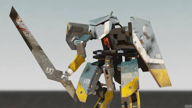 MG NEO-ZEKE Knight set
