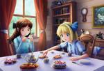 Alices' tea party [1]