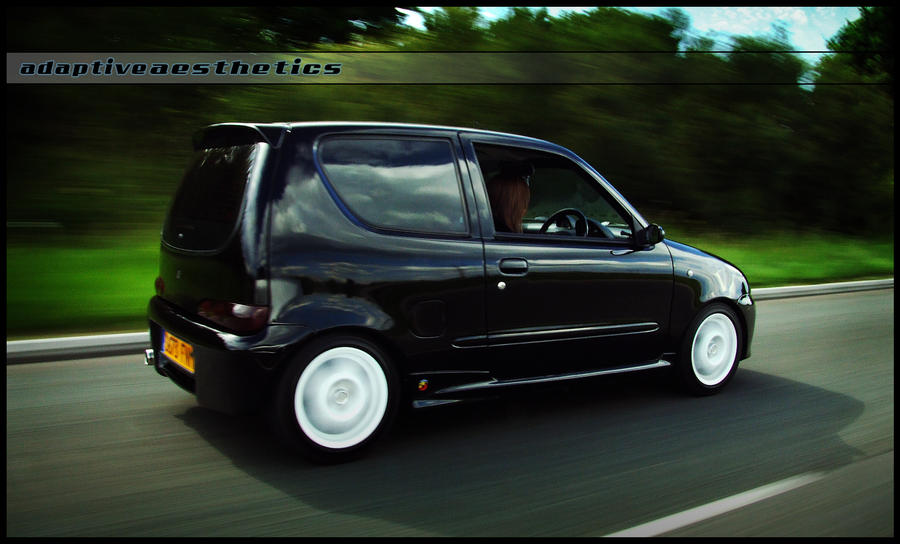 Seicento Abarth Rolling By Dobedemon On Deviantart