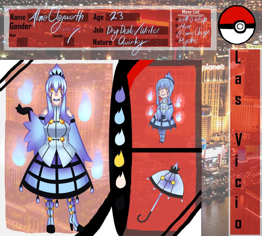 PokeCity Heroes App: Alma Clayworth by SpiritSilverMoon117