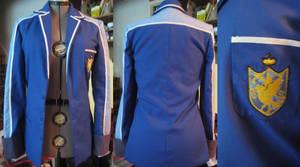 Commission: Hatoful Boyfriend jacket by poisonedangel