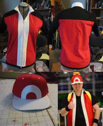 Commission: Red - Pokemon Origins