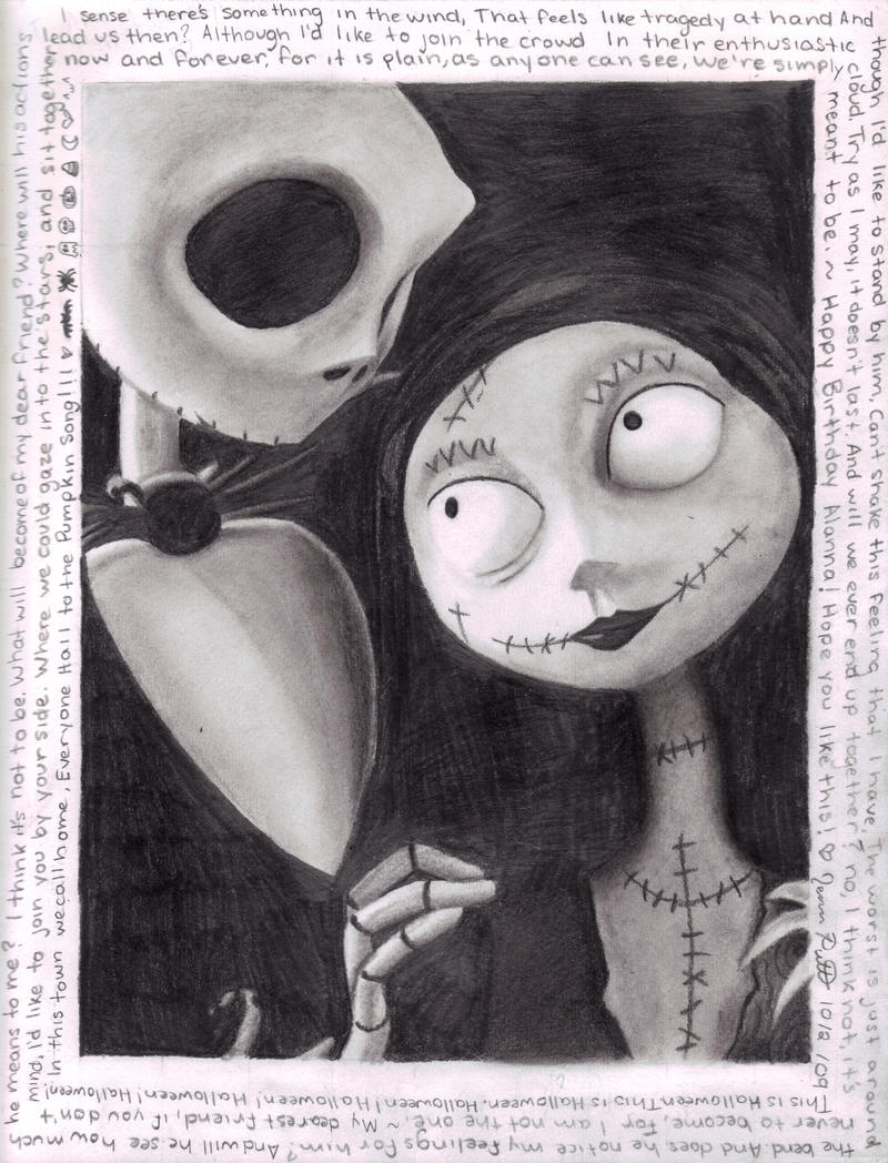 Nightmare Before Christmas by bloodyxrosexiii