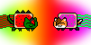 Hallex Icons Nyan by S1LKST3RK4T