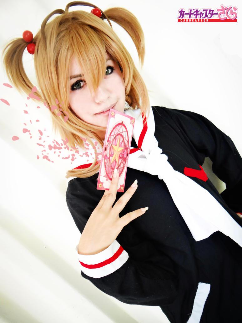 Sakura Kinomoto Cosplay by KasaNeko