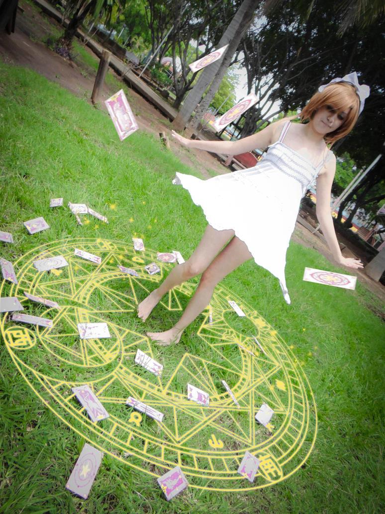 Cards rain by KasaNeko
