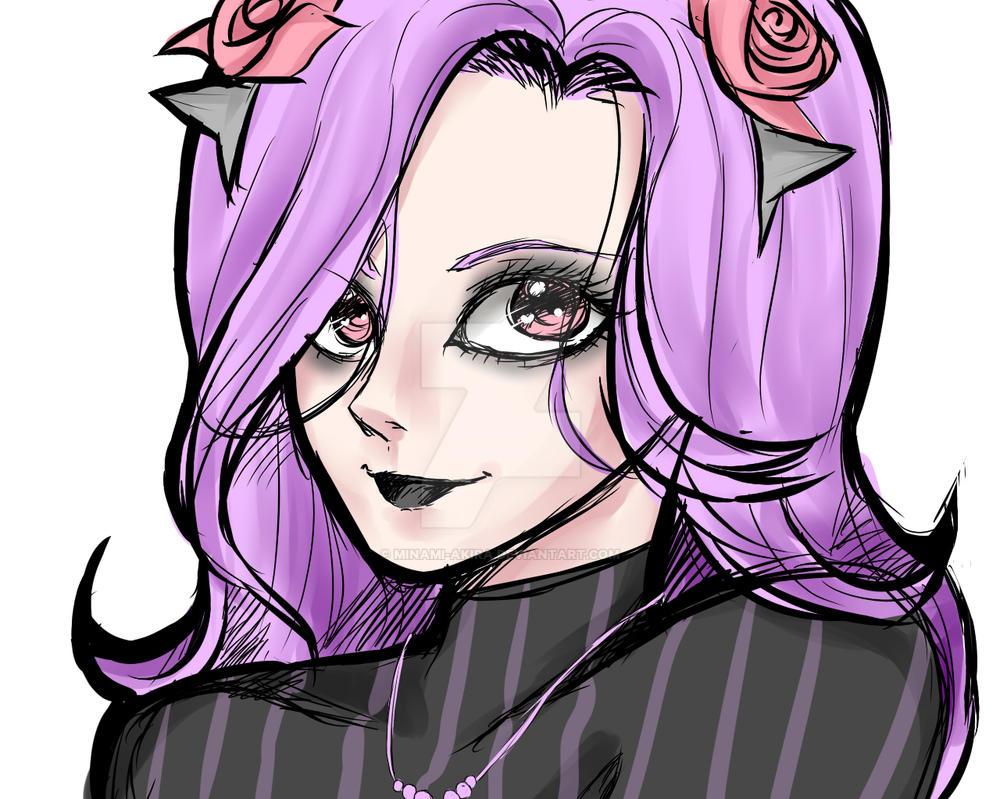 Pastel Goth by minami-akira