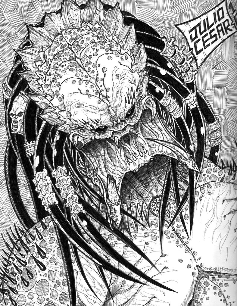 PREDATOR FACE by vandalocomics on DeviantArt