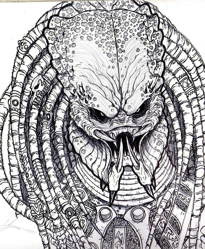 Depredador (Predator) - Dibujos