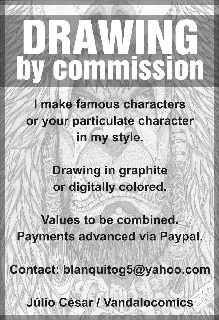 DRAWING COMMISSIONS