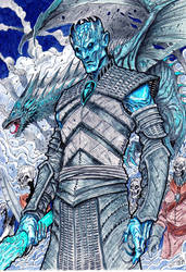 NIGHT KING GOT (Game of Thrones) by vandalocomics