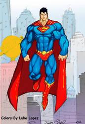 super homem by vandalocomics