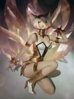 Ahri Prestige KDA League of Legends Olesya Spitz by olesyaspitz