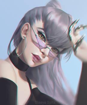 Evelynn K/DA The Baddest portrait