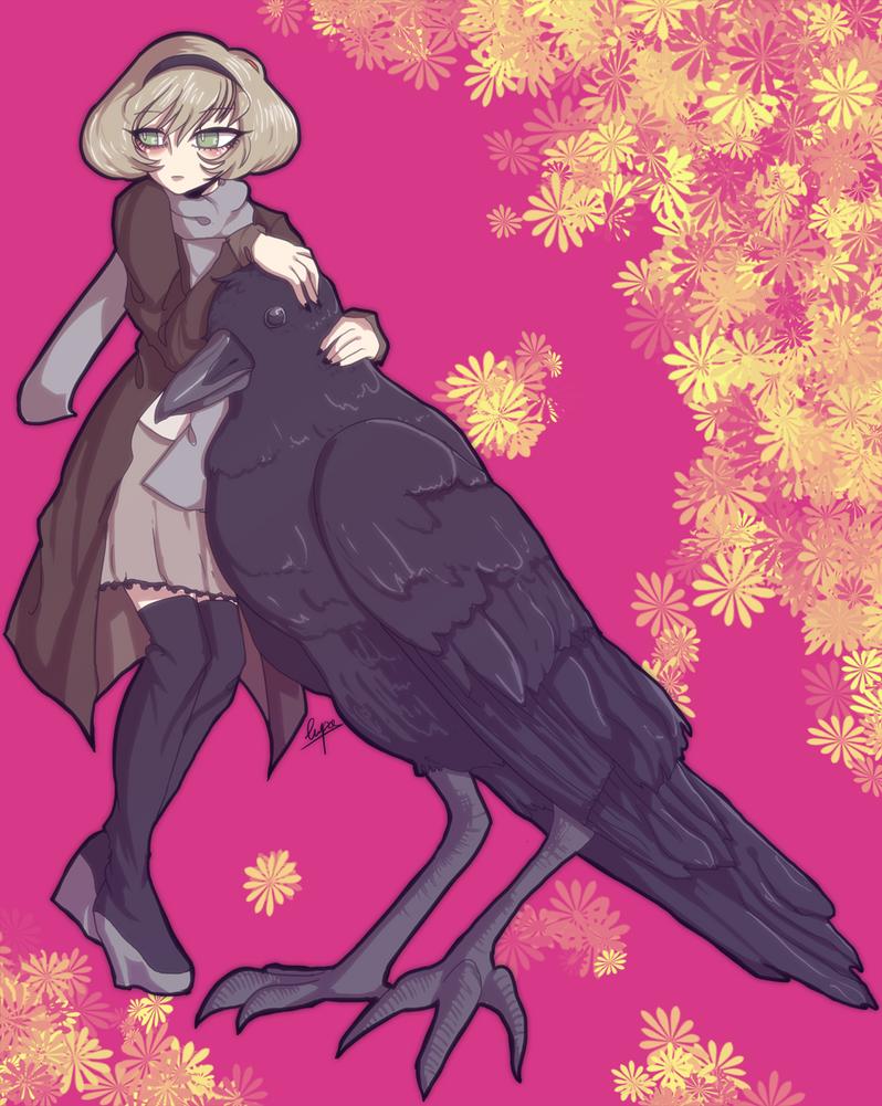 Crow by Lupamannara36