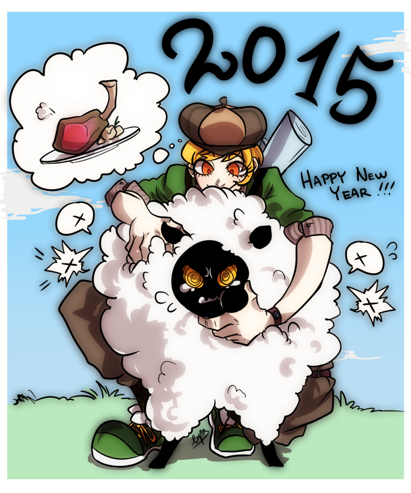 Happy New Year by Lupamannara36