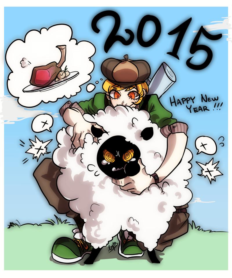 Happy New Year by Lupamannara36