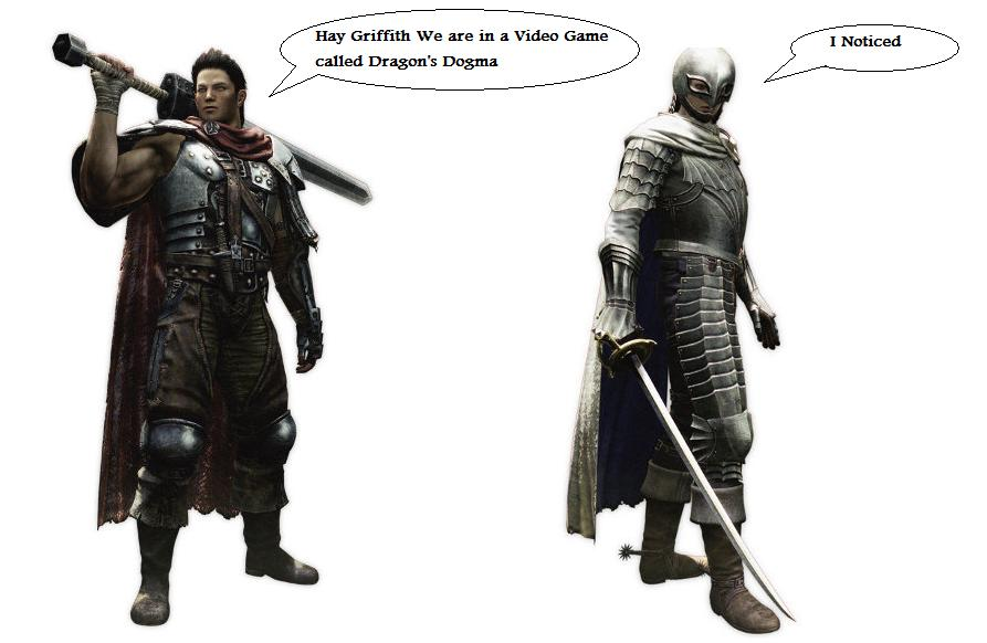 Guts And Griffith In Dragon S Dogma By Darkkomet On Deviantart